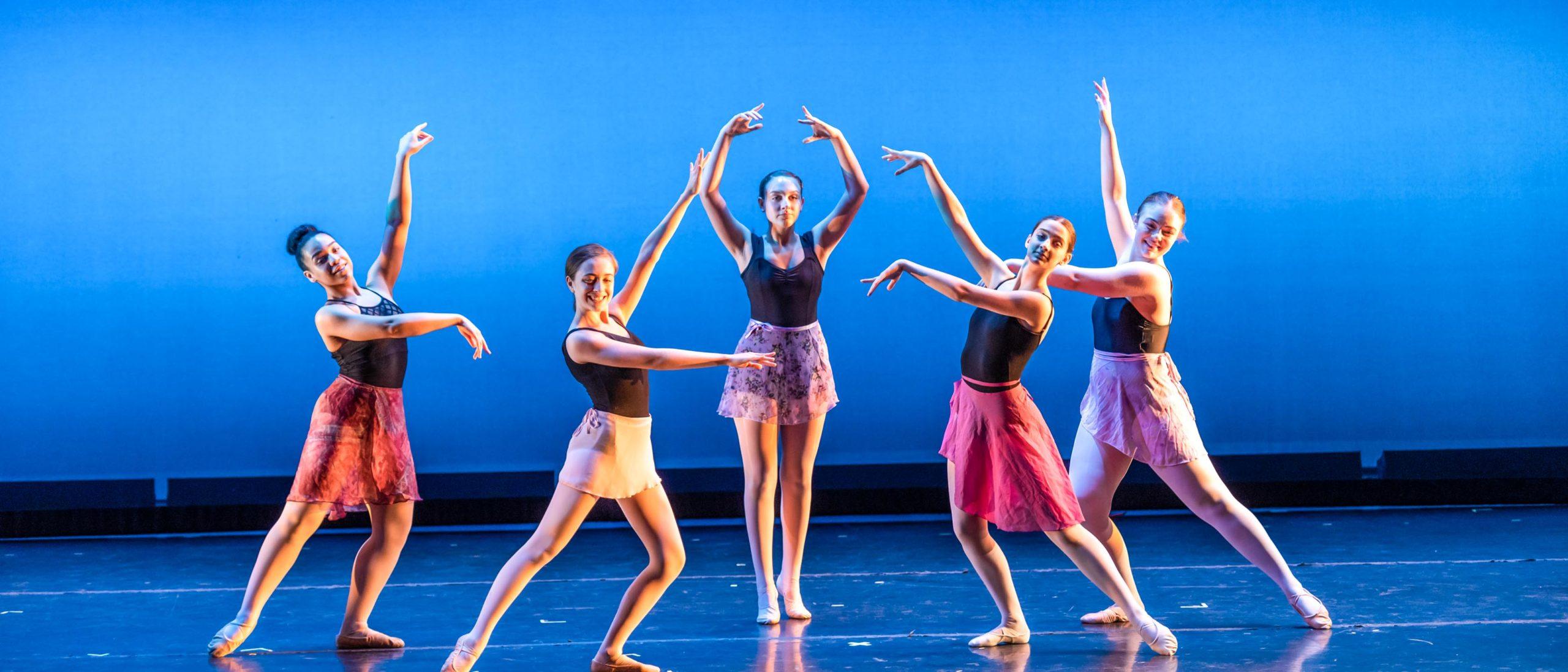 Student ballet performance