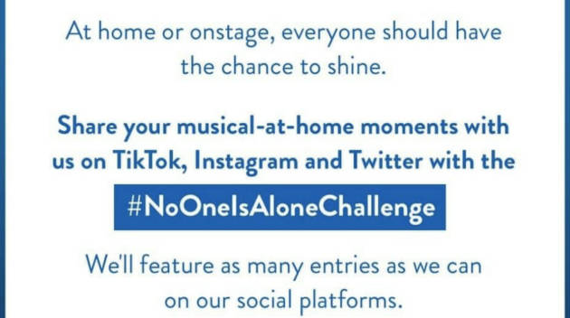 No One Is Alone Challenge