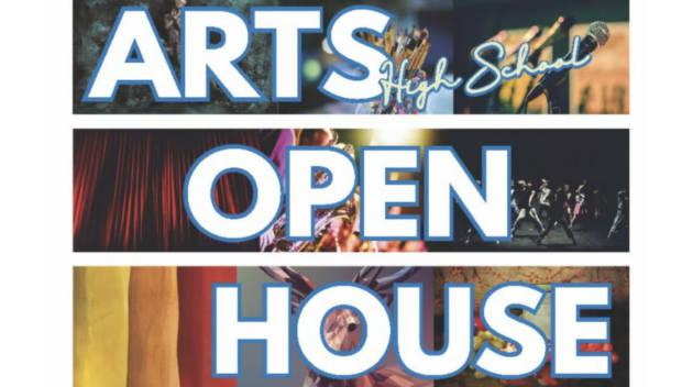 Arts Open House Flyer
