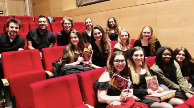 Students at the Adelphi Performing Arts Center