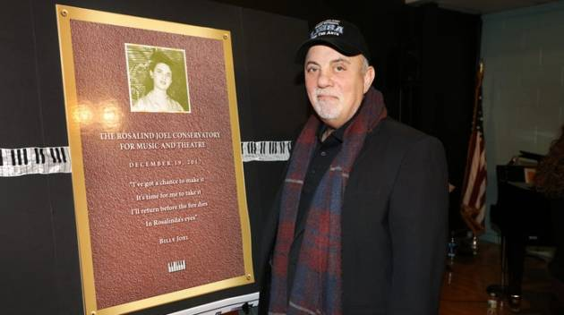 Billy Joel at the Renaming Ceremony