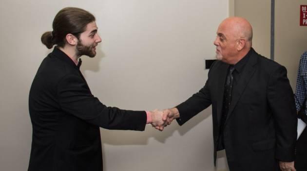Billy Joel and Alum Jeremy Kaplan