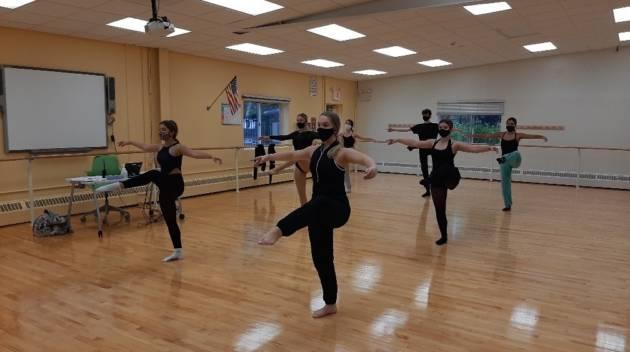 dance class at LIHSA