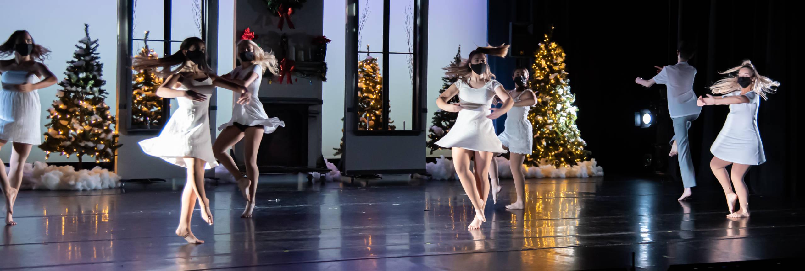 Dancers in Masks