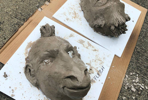 Life Cast and Character Designs