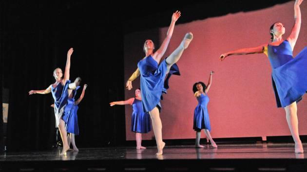 Dancers Dancing in a Show.